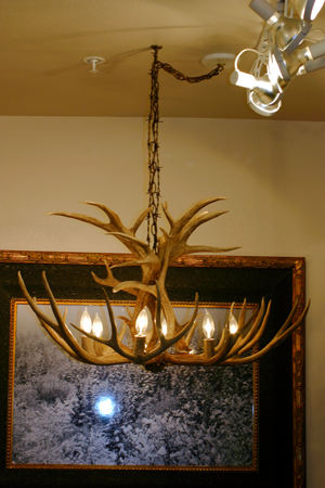 Antler Chandeliers by Jon Huff at  Big Horn Design