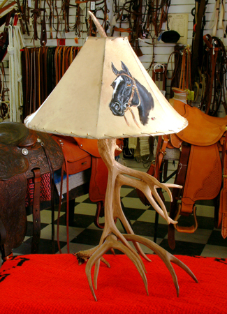 Deer Antler Lamps by the best Antler Artist in the West!